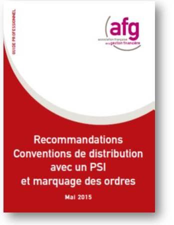 Guide Professionnel recommandations Convention Distribution PSI 2015 mai