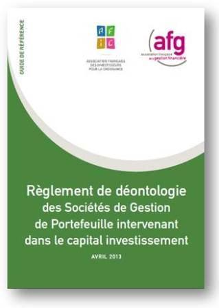 Règlement déontologie CAPITAL INVESTISSEMENT 2013