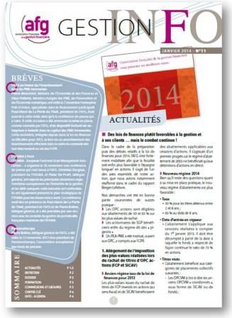 Gestion info 11 janvier 2014