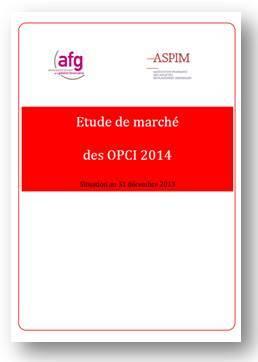 Etude de marche OPCI 2014