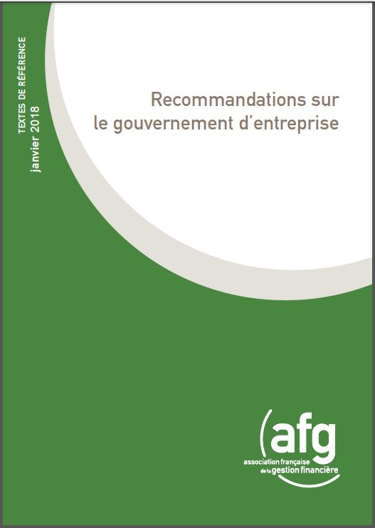 Gouvernement d'entreprise : l'AFG renforce ses recommandations à l'occasion de leur 20ème anniversaire