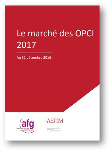 Le marché des OPCI 2017 - Au 31 décembre 2016