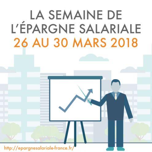 « Semaine de l'épargne salariale » du 26 au 30 mars 2018