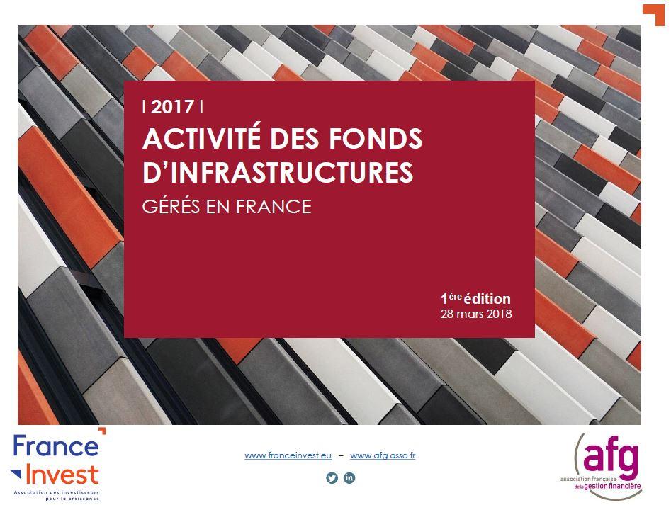 L'Activité des fonds d'infrastructures gérés en France en 2017