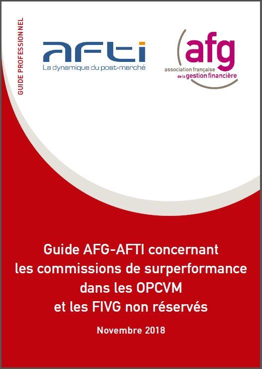 Guide AFG-AFTI concernant les commissions de surperformance dans les OPCVM et les FIVG non réservés