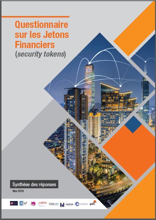 Rapport sur les Jetons Financiers (security tokens) - Mai 2019