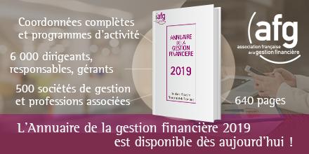 L'Annuaire de la gestion financière 2019 est disponible