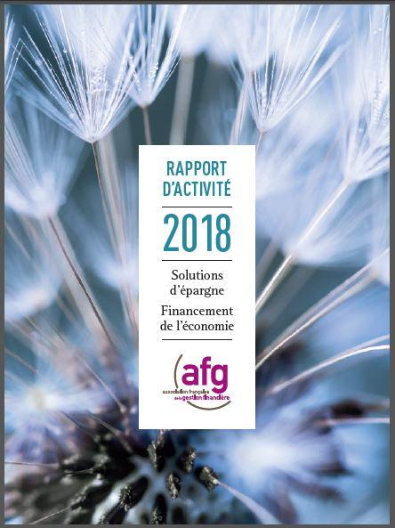 Rapport d'activité 2018 : Solutions d'épargne Financement de l'économie