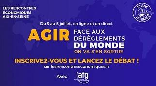 Aix en Seine - « Agir face aux dérèglements du Monde – on va s'en sortir ! »