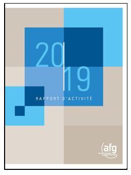 Découvrez le Rapport d'activité 2019 de l'AFG !