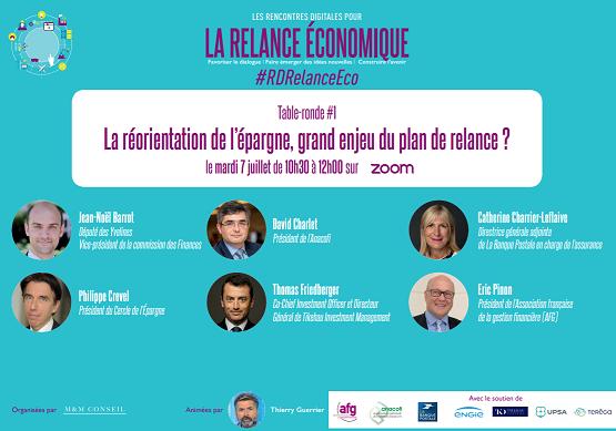 Rencontres digitales pour la Relance économique