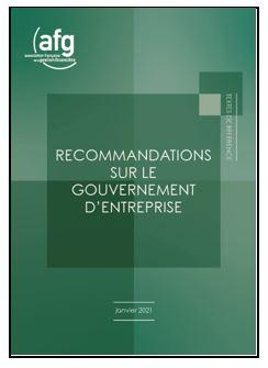 Gouvernement d'entreprise : l'AFG renforce ses recommandations pour 2021